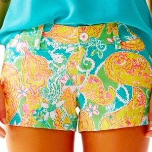 Pop Goes The Lemur Shorts by Lilly Pulitzer Size 2